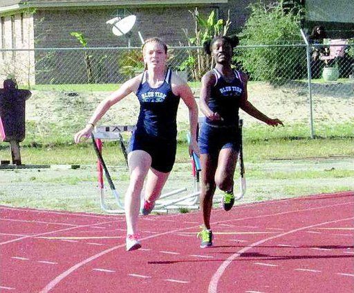 Long Co Shows Well in Track Meet