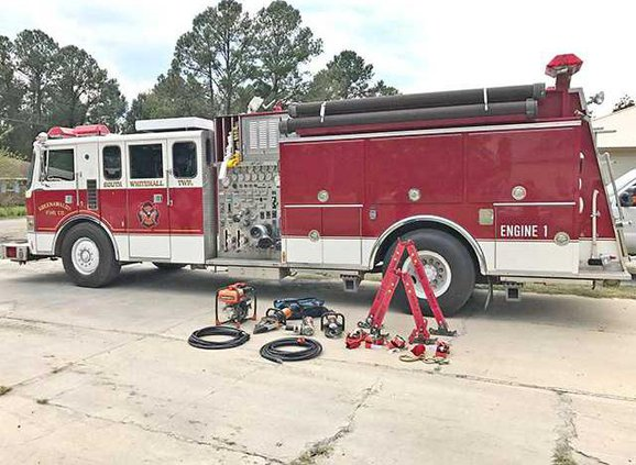 Long Co fire engine and equipment  bought with SPLOST