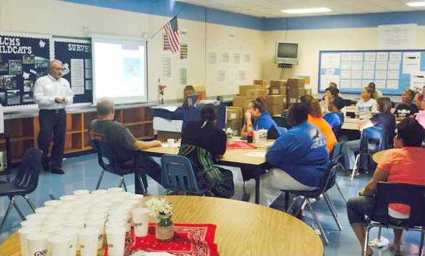 Long County School Nutrition Safety Training