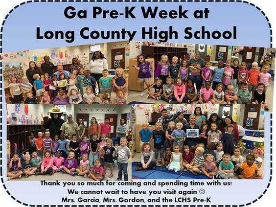 Long preK week