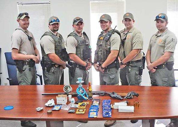 Long sheriff drug bust
