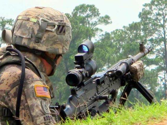 M240-gunner