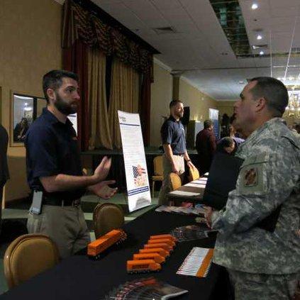 Matthew Larson Schneider military recruiter and SFC Frankie Rodriguez-1