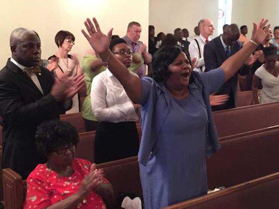 Prayer vigil praise
