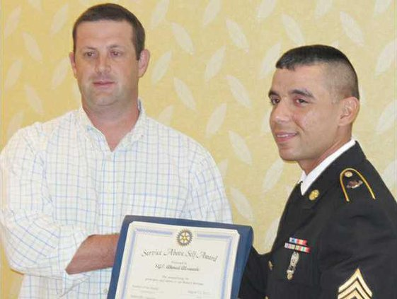 Rotary - Soldier of Month