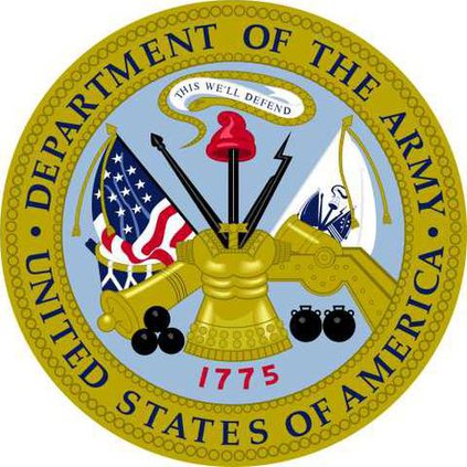 Seal of the US Department of the Army