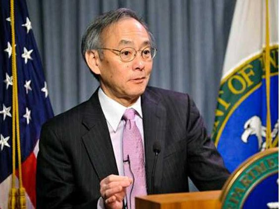 Steven Chu sec of energy