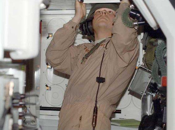 Tanker in simulator