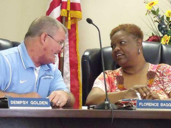 Waters and Baggs at the Long BoE April meeting