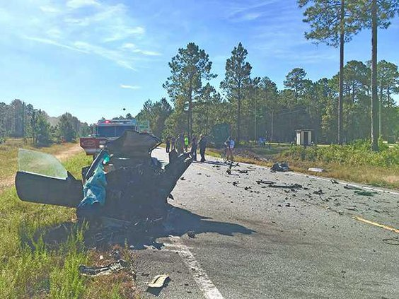fatal wreck on post Kevin pix