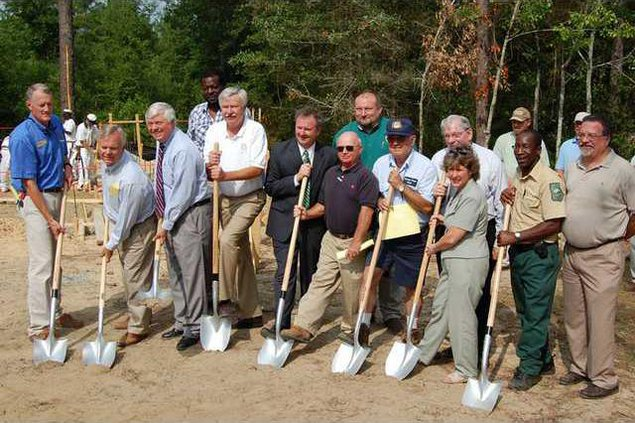 groundbreaking at gordonia
