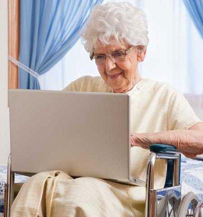 internet elderly