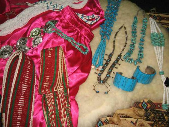 native clothes jewelry