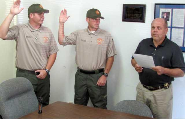 0619 deputies sworn in