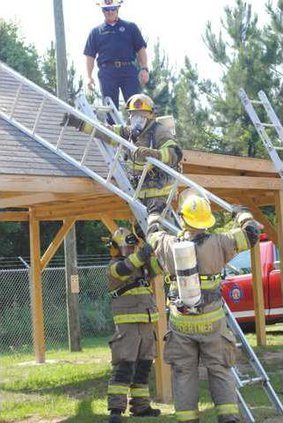 0717 Firefighters training
