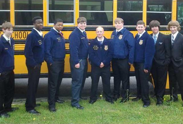 1-Long Co FFA Go to State Convention