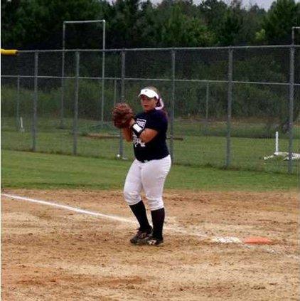 Harley Dawson from Lady Tide softball all region team