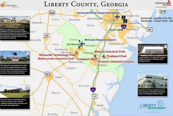 LCDA map