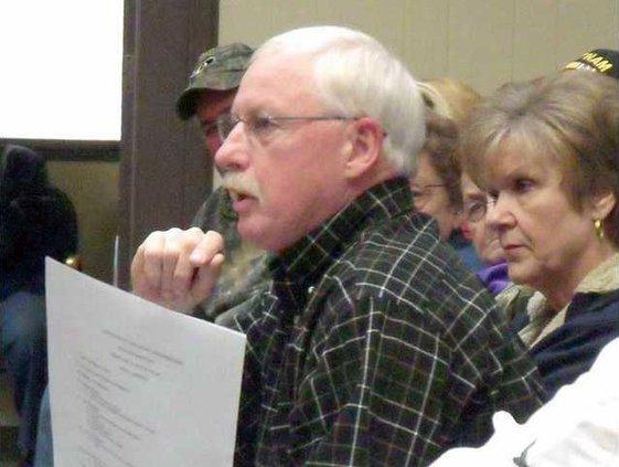 LONG Randy Wilson at meeting