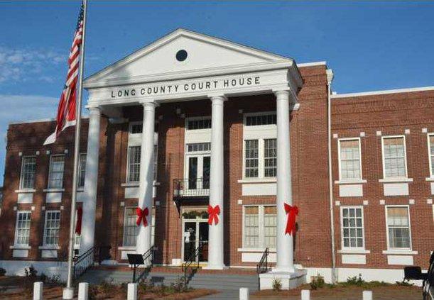 Long County GA courthouse