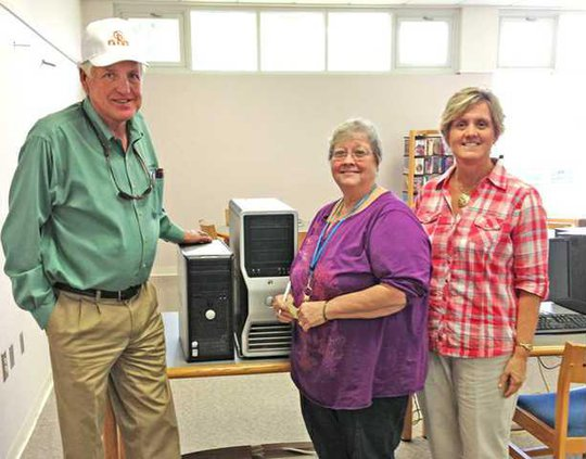 Long County Library Donation1