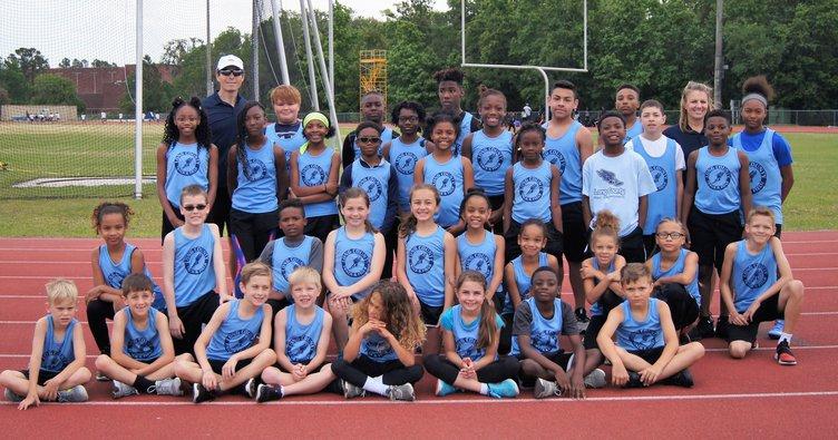 Long County rec athletes at district meet