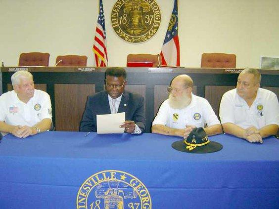 POW-MIA proclamation signing