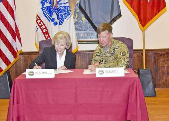 Photo - MOU US Cyber Center on June 2 2