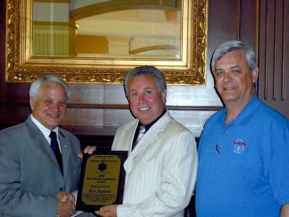 Ron Stpehens-GAEMS Award