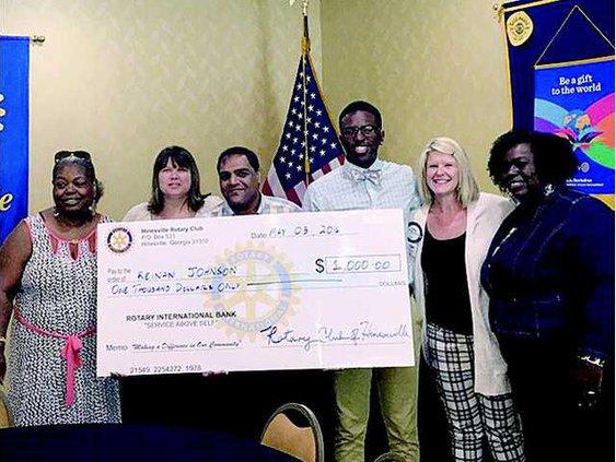 Rotary scholarship presentations