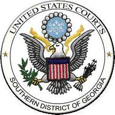 Seal of the United States District Court for the Southern District of Georgia