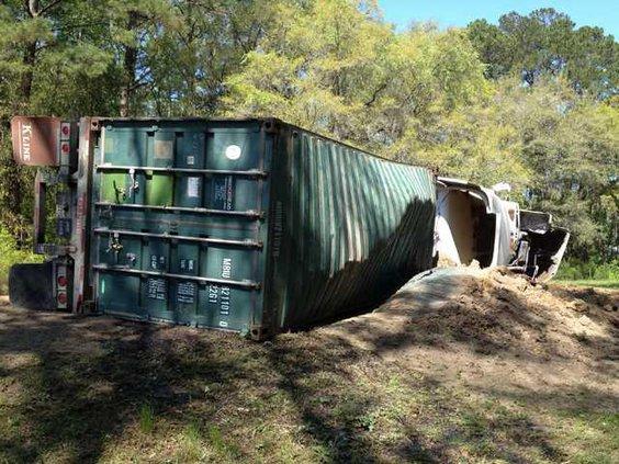 WEB 0328 Truck chemical spill2