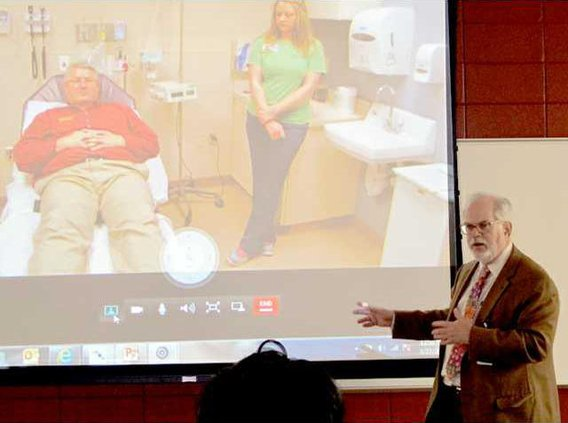 chamber - stroke Dr. Joel Greenberg demo