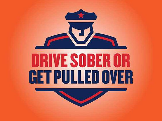 drive sober get pulled over