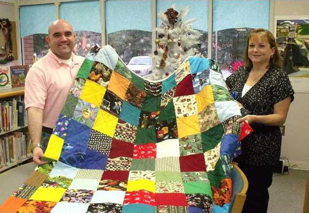 0102 Colorful quilt