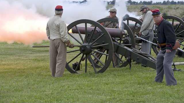 0109 cannon firing