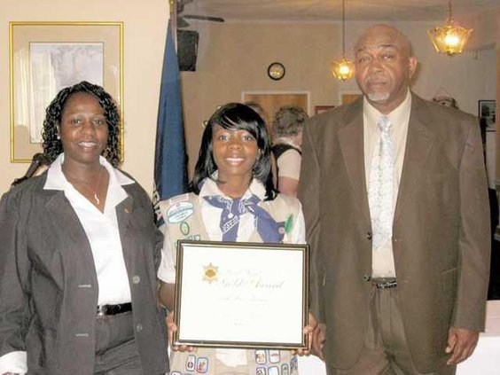 0516 Girl Scout award