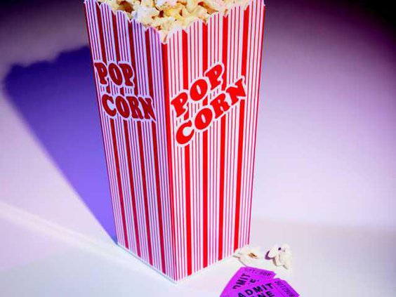 0909 Movie popcorn