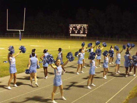 1013 Tide Cheerleaders