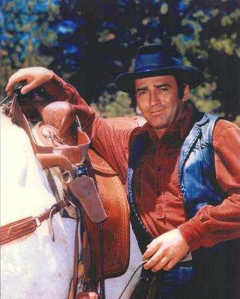1a. James Drury as The Virginian color