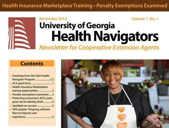 Health navigators screenshot