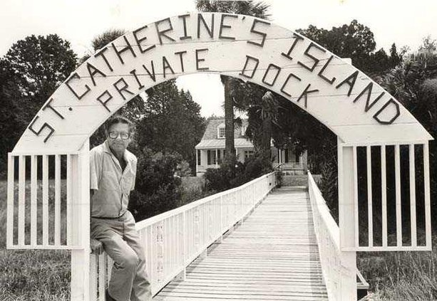 John on the dock