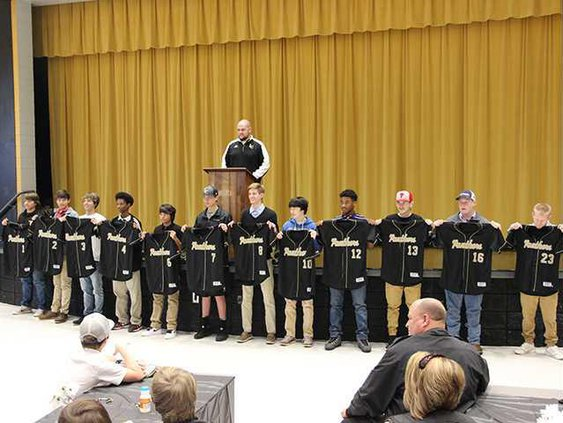Liberty County Varsity Baseball Team