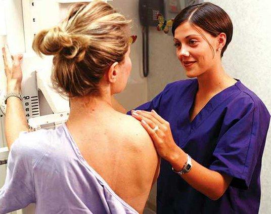 Mammogram tech