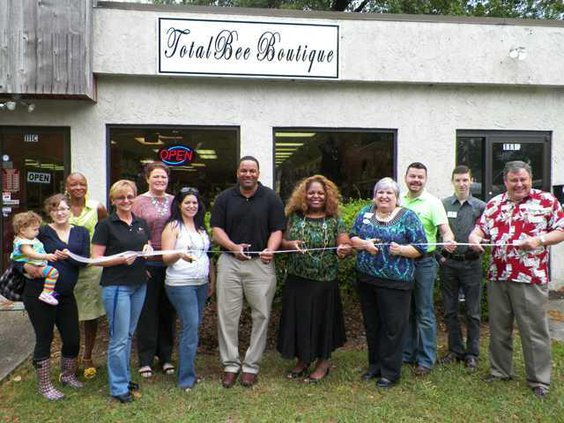 Ribbon Cutting - Total Bee Boutique