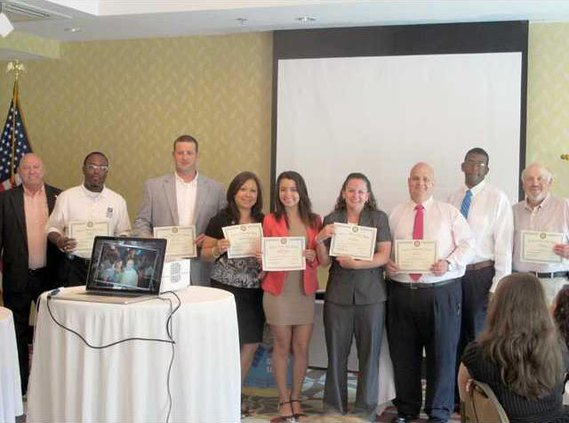 Rotarians recognize their own - Service above Self Awards