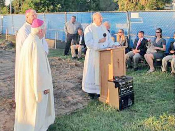 St. Anne groundbreaking