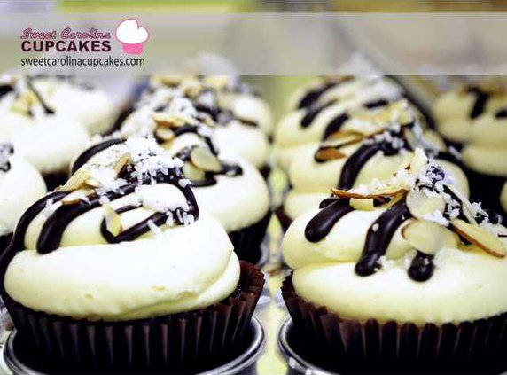 Sweet Carolina Cupcakes Almond Joy-1