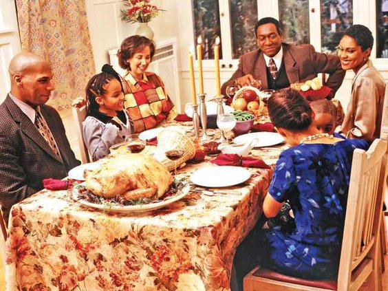 Tgiving family