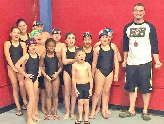 Y swim team